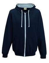 Picture of Varsity Zoodie French Navy / Sky Blue