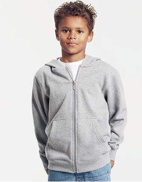 Picture of Fairtrade Kids Zip Hoodie