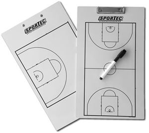 Afbeelding van Sportec Coachbord Light Basketbal