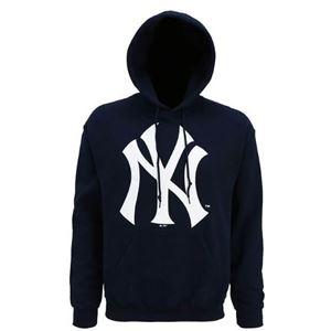 Afbeelding van New York Yankees hoodie met groot logo Navy