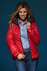Afbeelding van James & Nicholson Ladies Lightweight Jacket