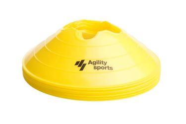 Picture of Agility Sports Voetbalpionnen Geel 10 stuks