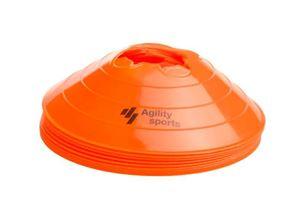 Afbeelding van Agility Sports Markeringspionnen Oranje 10 stuks