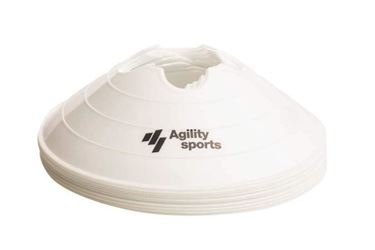 Picture of Agility Sports Markeringshoedjes Wit 10 stuks