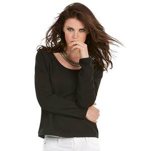 Afbeelding van B&C Eden Dames Sweater met brede hals