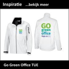 Duurzame Softshell jassen voor Go Green Office TU Eindhoven