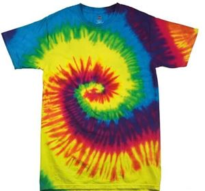 Colortone Kids Rainbow Tie-Dye Shirt