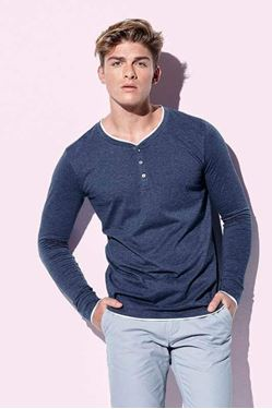 Luke Long Sleeve Henley T-Shirt