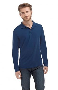Picture of Stedman Long Sleeve Polo