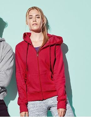 Stedmans Active Sweatjacket Voor Dames