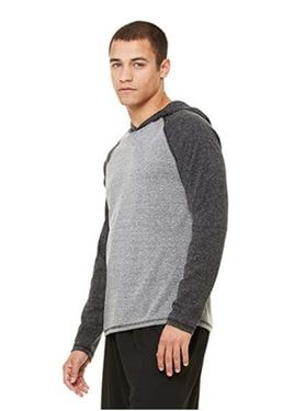 Men´S Performance Triblend Long Sleeve Hooded Pullover