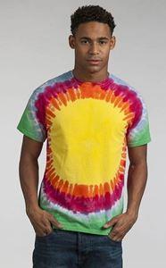 Afbeelding van Rainbow Sunburst T maat M