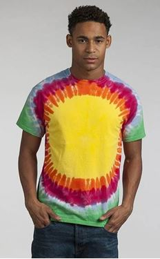 Picture of Rainbow Sunburst T maat M