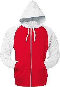 Afbeelding van Baseball Hooded Sweatshirt maat XL