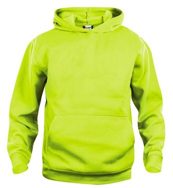 Picture of Clique Basic Hoody Junior Signaal Groen 12/14 jr.