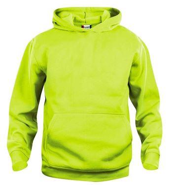 Picture of Clique Basic Hoody Signaal Groen maat XS