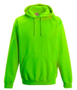 Picture of Electric Hoodie Green maat S