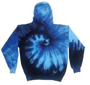 Rainbow tie-dye hoodie Blue Ocean