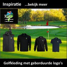 Team Golfkleding met geborduurde logo´s