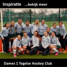Team sweaters voor Dames 1 Tegelse Hockey Club