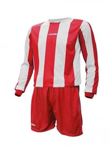 Afbeelding van Voetbal set Mercury lange mouw Rood Wit