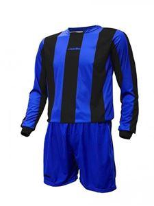 Jemsz Voetbal Set Mercury Lange Mouw Blauw Zwart