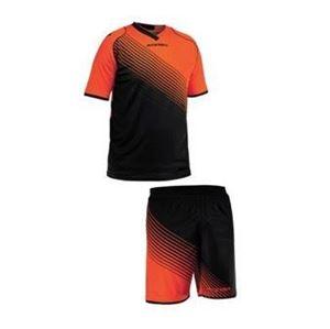 Team Set England Korte Mouw Oranje Zwart
