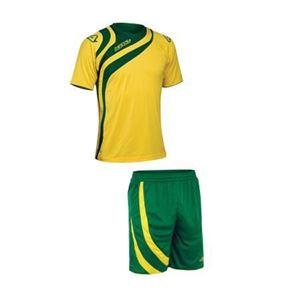 Afbeelding van Team Set Alkman korte mouw geel groen