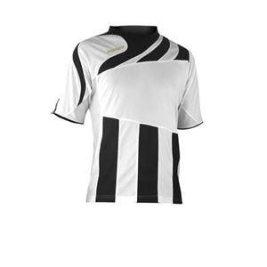 Acerbis Team Shirt Korte Mouw Mira Wit-Zwart