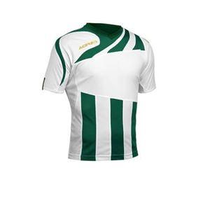Acerbis Team Shirt Korte Mouw Mira Wit Groen