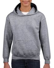 Heavy Blend™ Youth Hooded Sweatshirt Graphite Heather