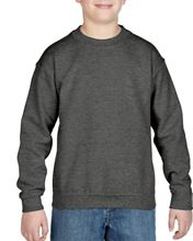 Gildan Heavy Blend™ Youth Crew Neck Sweatshirt Graphite Heather