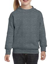 Gildan Heavy Blend™ Youth Crew Neck Sweatshirt Dark Heather