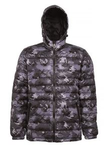 Padded Jacket Van 2786 Camo Grey