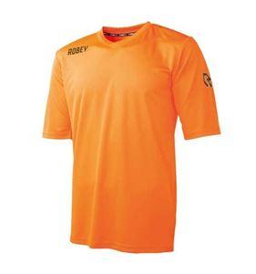 Robey Score Korte Mouw Oranje voetbalshirt