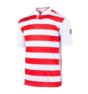 Robey Legendary Voetbalshirt Korte Mouw Rood-Wit