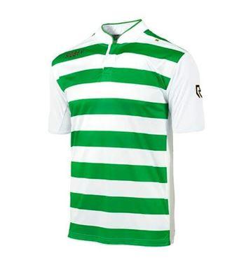 Robey Legendary Voetbalshirt Korte Mouw Groen-Wit