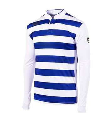 Robey Legendary Voetbalshirt Lange Mouw Blauw-Wit