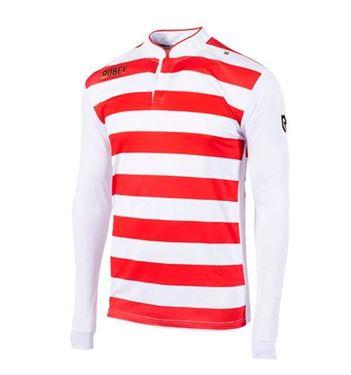Robey Legendary Voetbalshirt Lange Mouw Rood-Wit