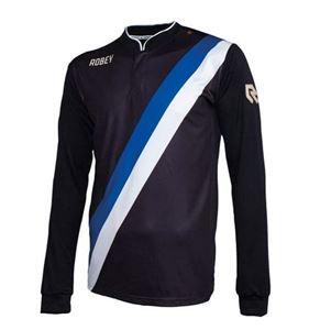 Robey Anniversary LS Zwart-Blauw-Wi