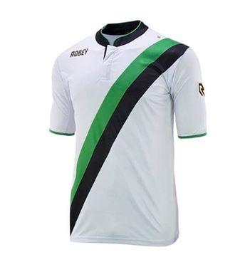 Robey Anniversary Korte Mouw Wit-Groen-Zwart
