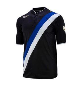 Robey Anniversary Korte Mouw Zwart-Blauw-Wit