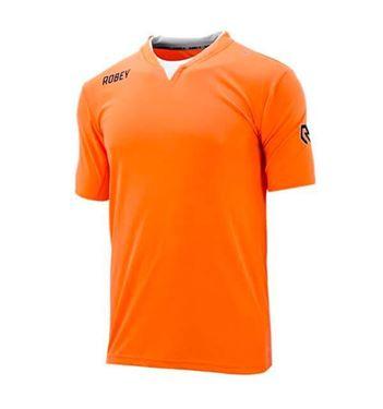 Robey Catch Voetbalshirt Korte Mouw Fluo Oranje