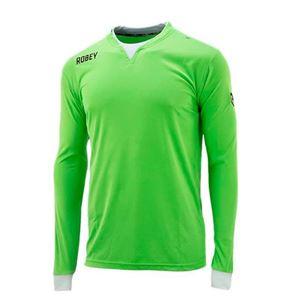 Robey Catch Voetbalshirt LS Fluo Groen