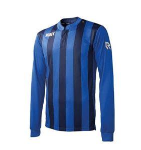 Robey Winner Voetbalshirt Lange Mouw Blauw-Zwart
