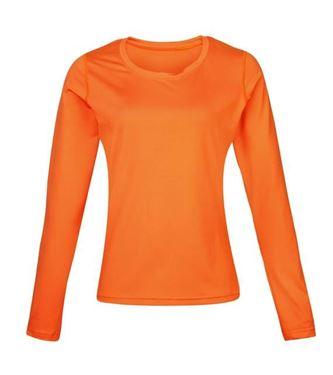 Picture of Women's Rhino base layer long sleeve Orange maat 40