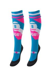 Funkous Rugby Twister Blue Pink
