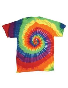 Multi-Color Spirals Youth T-Shirt