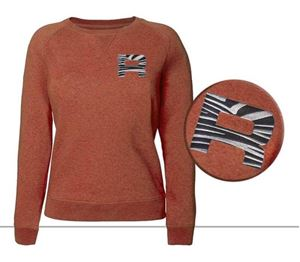 Rofy Casual Dames Sweater Orange