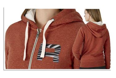 Oranje Dames Sherpa Sweater